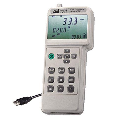 TES 1381K Leitfähigkeits- & pH/ORP Messgerät/Conductivity & pH/ORP Meter