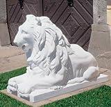 Löwe Statue Gartenfigur aus Betonwerkstein Steinfiguren Garten-Statue Dekofigur Gartenskulptur