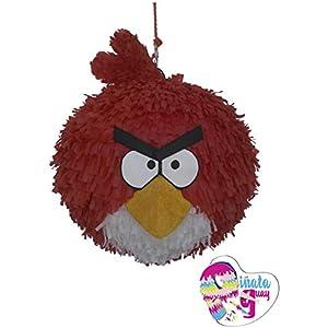 Angry Bird Piñata. (Pinata roter