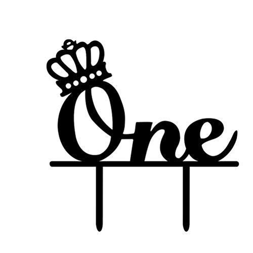 Descripción ¿Está buscando una decoración en particular para su pastel? Este topper de pastel delicadamente elaborado cumplirá con sus requisitos. Viene con una hermosa tallada y una corona cerca de esta palabra. Sus huéspedes serán impresionados muc...