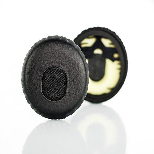Ersatz-Ohrpolster für Bose Quiet Comfort 3 (QC3) und On-Ear (OE) Kopfhörer (Nicht kompatibel mit Bose On-Ear 2 (OE2) Kopfhörer)