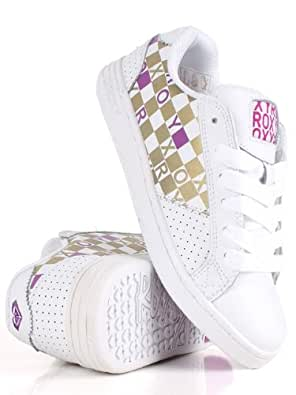 Roxy Colly Ladies Trainers In Bright White XCWSL172 (UK 4)