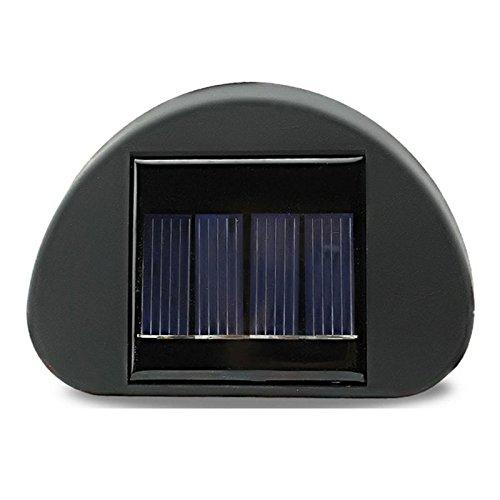 Solarbetriebene Wand Stairway Berg Garten Kühle Zaun-Licht-Lampe (Solar-panel Led-leuchten Im Freien)