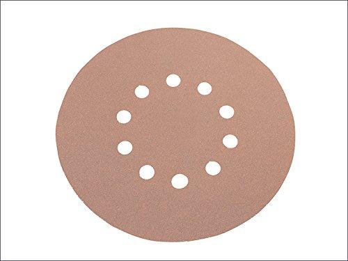 Flex Power Tools carta abrasiva velcro backing rotonda per soddisfare le wst-700vp 100Grit Pack 25FLX348538