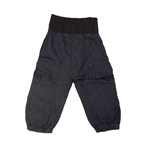 Minymo Unisex Baby Hose Basic 37 -Baggy Pants -Unisex,, Gr. 74 cm,Blau (Dark Blue)