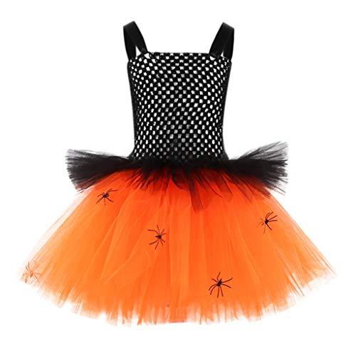 Realde Mädchen Kinder Kostüm Geburtstag Karneval Fasching Cosplay Kostüme Kleid Verkleidung Tutu Rock Langarm und Ärmellos Halloween Mini Kleid Kleidung Party - Snoopy Kostüm Mädchen