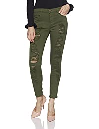 Forever 21 Women's Relaxed Fit Cotton Pants