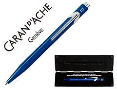Idea Regalo - Caran d' Ache 849-Penna classica blu zaffiro