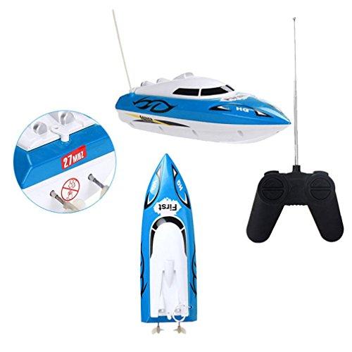 Wokee 10 Zoll RC Boot Velocity Fernbedienung Boot für Pool & Outdoor Radio Fernbedienung RTR elektrische Dual Motor Spielzeug
