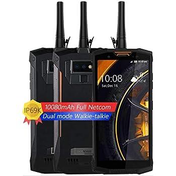 DOOGEE S80 - Smartphone Libre Profesional Walkie-Talkie con 10080mAh batería IP68 / IP69K Impermeable Antipolvo, Android 8.1, 5.99 Pulgadas FHD + Pantalla, ...