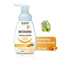 Betadine Hand  Wash Natural Defense, Manuka Honey - 225 ml