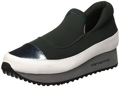 Fornarina sneaker donna, verde (next2 green) 40 eu