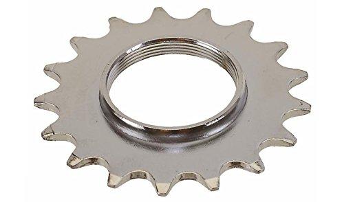 Joytech Track Hub Ritzel Cog 18T für 1/2x 1/20,3cm Breite Kette Fixed Gear Fixi Bike Silber