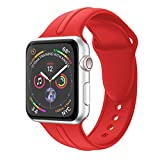 Amlaiworld_ Correas Correa para Apple Watch Serie 4 44mm Bucle de Reloj de Acero Inoxidable de Repuesto Pulseras de Repuesto Wristband