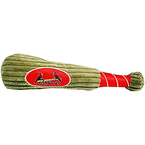 Pets First MLB St. Louis Cardinals Dog Baseball Bat Toy - Louis Cardinals Dog Baseball