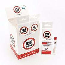 Prueba & Drive único, Reino Unido y NF Normas Kits de prueba de alcoholemia 0,00,2& 0.5bac