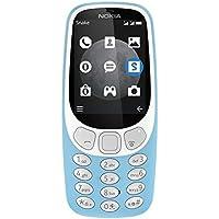 Nokia 3310 Téléphone portable débloqué 3G Double Micro-SIM Azur