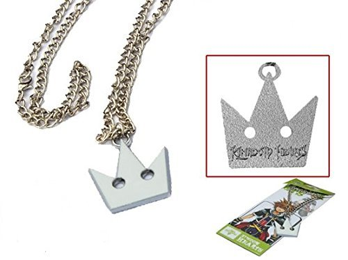 KINGDOM HEARTS COLLANA REPLICA COSPLAY BIANCA CORONA SORA NECKLACE CROWN (Kingdom Hearts Corona)