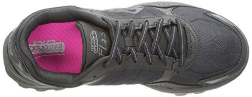 Skechers Go Walk 2-Flash Lt, Chaussures de Tennis Femme BBK