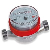 Cornat T597004 - Contador de agua caliente sin rosca (1 pulgada)