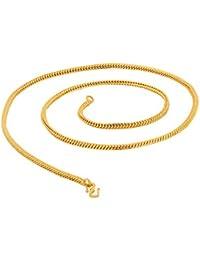 Voylla Fashion Metal Chain for Men(Gold) (8907275514510)