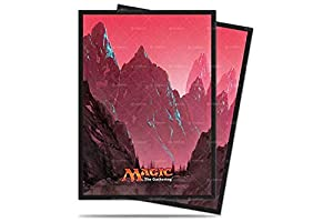 Ultra Pro Mana 5 Mountain Standard Deck Protector Sleeves for Magic 80ct, Color gebirge (E-86457)