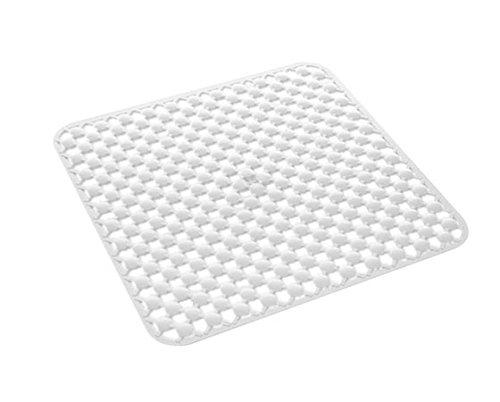 Gedy 9753530230 – Antideslizante Ducha 53X53 G-Geo Blanco