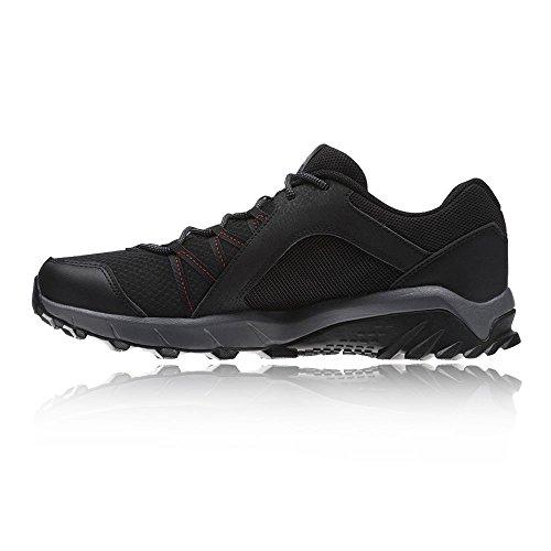 Reebok Trailgrip 6.0, Scarpe da Nordic Walking Uomo Nero (Black/rich Magma/alloy)