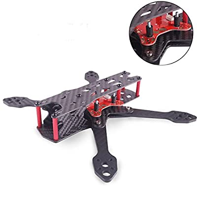 Martian II RX220 FPV Racing Drone Carbon Fiber Quadcopter Frame like QAV210 etc (4MM) from DroneACC