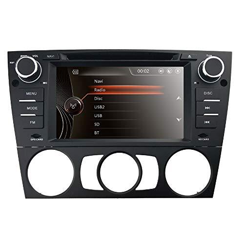 HIZPO Autoradio - Reproductor Multimedia para BMW E 90 E91 E92 mit...