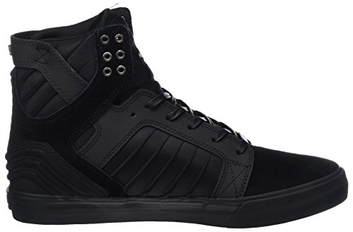 Supra  Skytop, haute sneakers homme Schwarz (Black-Black)