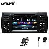 SWTNVIN Android 9 Auto Audio Stereo Kopfeinheit passt für BMW E39 DVD Player Radio 7 Zoll HD Touchscreen GPS Navigation mit Bluetooth WiFi Lenkradsteuerung 2GB + 32GB