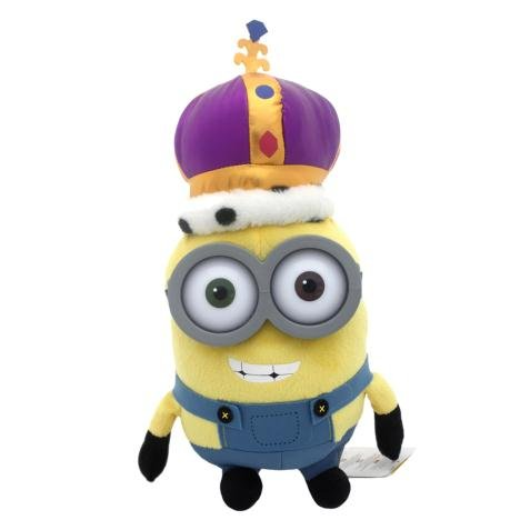 Minion Bob King Crown Plush - Minions Movie 2015 - 36cm 14""