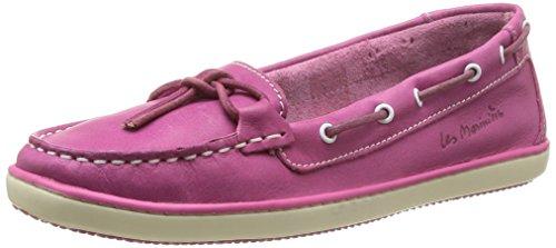 TBS Cadice, Chaussures bateau femme - Rose (Fuschia), 39 EU