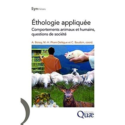 Éthologie appliquée: Comportements animaux et humains, questions de société