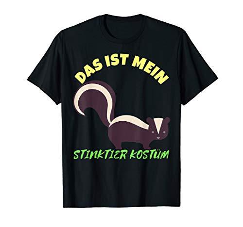 Das ist Mein Stinktier Kostüm Karneval T-Shirt Herren Damen (50 Last Minute Kostüm Ideen)