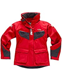 Gill Ladies Coast Jacket Red/Graphite IN12JW