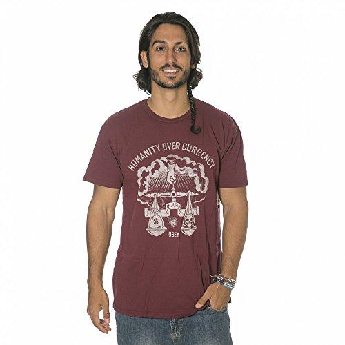 T-Shirt: Injuria GT Granatfarben