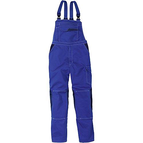 Kübler Arbeits - Latzhose 'Image Dress', 1 Stück, 54, kornblumenblau / dunkelblau, 33473411-4648-54