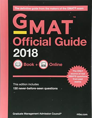 GMAT Official Guide : Book + Online