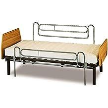Barandilla deslizante universal para cama (unidad) | Largo de 115 cm | Alto de 75 cm