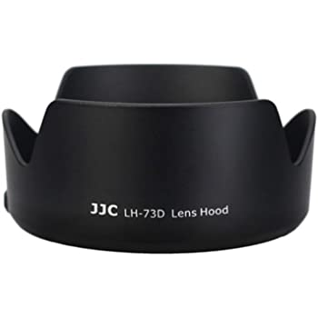 JJC LH-73D Lens Hood for Canon EF-S 18-135mm f/3.5-5.6 IS USM Lens+ 80D 70D 700D Replaces For Canon EW-73D