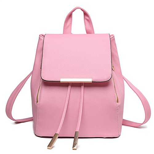Mefly Casual Borsa A Tracolla Alla Moda Claret Tempo Libero Pink