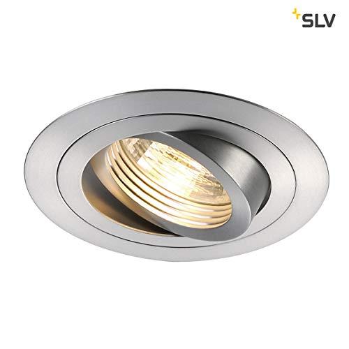 SLV NEW TRIA 1 Leuchte Indoor-Lampe Aluminium Silber Lampe innen, Innen-Lampe (Renovieren Einbaustrahler)