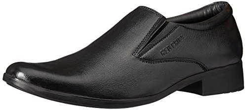 Red Chief Men's Black Leather Formal Shoes - 8 UK/India (42 EU)(RC1347A)