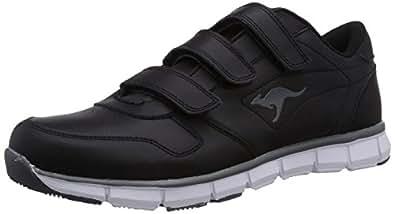 KangaROOS K-BlueRun 700 V, Unisex-Erwachsene Sneakers, Schwarz (black/dk grey 522), 47 EU