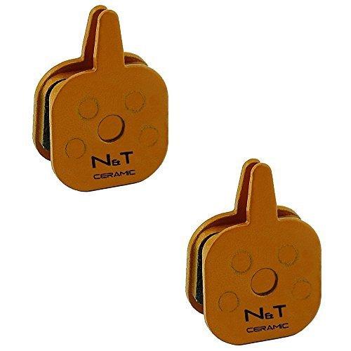 2x Noah and Theo nt-bp013/CR in ceramica Freno a disco PASTIGLIE PER TEKTRO IO, novela, AQUILA E VECCHIO gemelli. Anche Compatibile con cuscinetti MODELLI n11.11