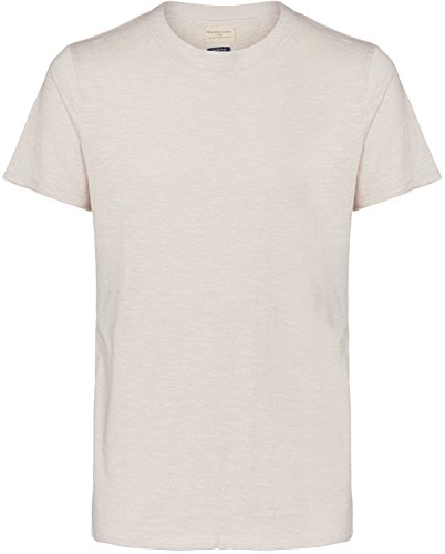 Selected SHNRock O-Neck T-Shirt Beige Meliert