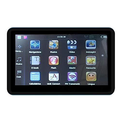 Ganquer Schwarz FM Karten GPS Navigation Direktzugriff Auto Touchscreen 128M Interner Speicher