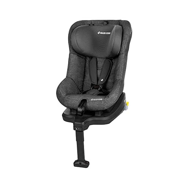 Maxi-Cosi TobiFix Toddler Car Seat Group 1, Forward-Facing ISOFIX Car Seat, 9 Months-4 Years, 9-18 kg, Nomad Black Maxi-Cosi Install using is fix connection point with support leg Simultaneous harness & headrest adjustment can be operated with one-hand 3 position recline 1